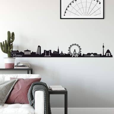 Vienna Skyline Wall sticker