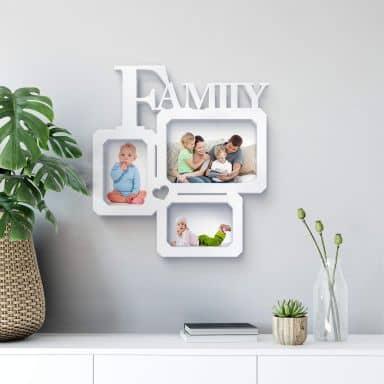 Lettre décorative - 3D Cadre Photo - Family love -