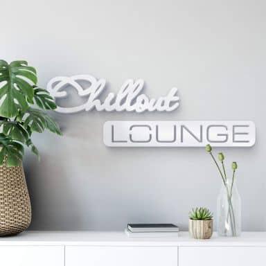 Dekobuchstaben Chillout Lounge