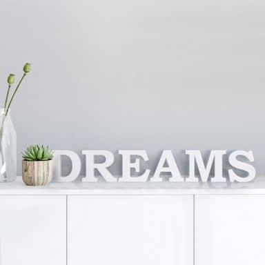 Lettere decorative - 3D Dreams 1