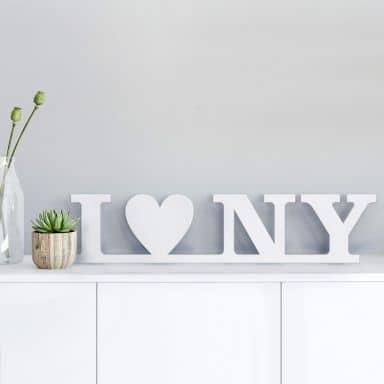 3D I love NY 3D letter