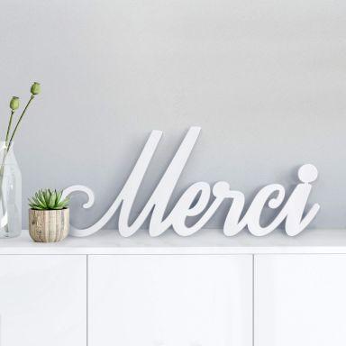 Lettere decorative - 3D Merci