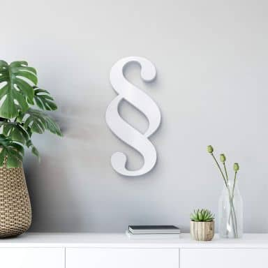 Lettere decorative - 3D Paragrafo