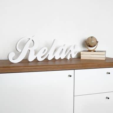 3D Relax - stilfuld kursiv