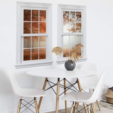 3D Wandtattoo Doppelfenster Dingemans - Ruhender Wald