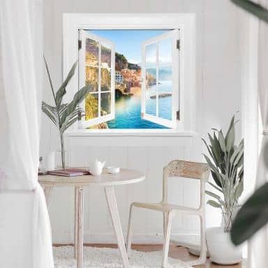 Trompe L'oeil Wall sticker - Campania in Italy