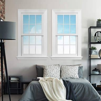 3D Wall sticker Double Window - Sunny Day