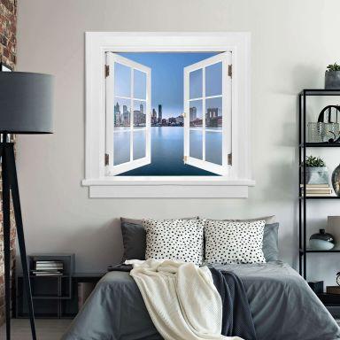 Trompe L'oeil Wall sticker - Brooklyn Bridge