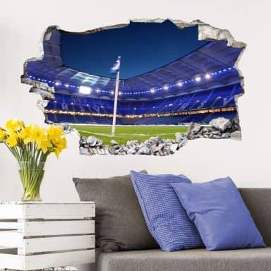 3D Wandtattoo - HSV Arena 02