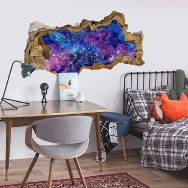 3D Wandtattoo Nebula
