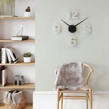 3D Clock with Letters