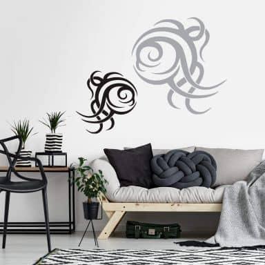 Sticker mural - Tribal 04