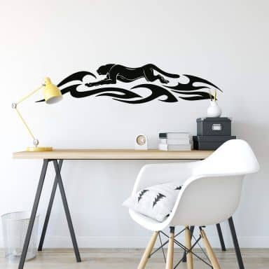 Panther Tribal Wall sticker