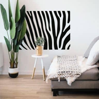 Zebra Pattern 1 Wall sticker