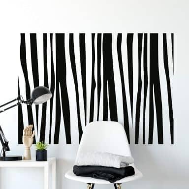 Zebra Pattern 2 Wall sticker