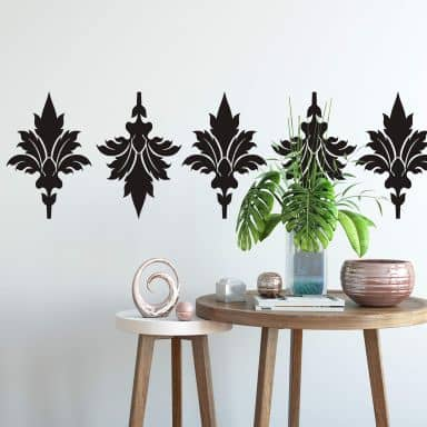 Sticker mural - Motif Rétro 2
