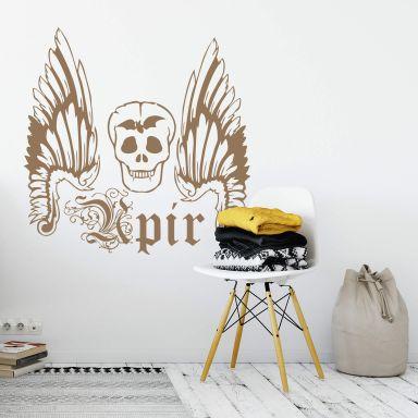 Sticker mural - Upir