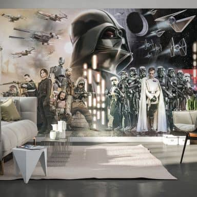 Photo Wallpaper Star Wars Collage