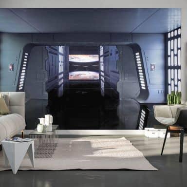 Photo Wallpaper Star Wars Death Star Floor