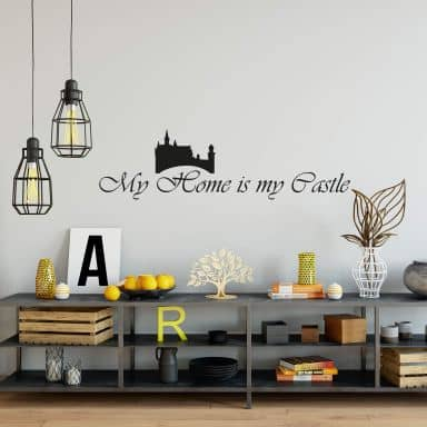 My Home is my Castle Wall sticker
