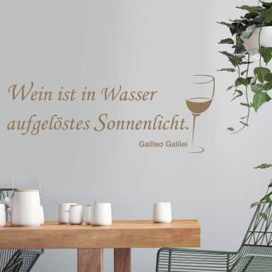 Adesivo murale - Wein