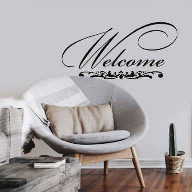 Welcome 1 Wall sticker