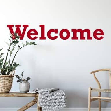 Welcome 2 Wall sticker
