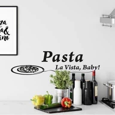 Pasta la Vista 2 Wall sticker