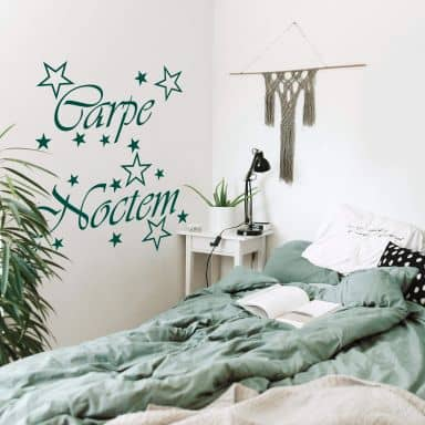Carpe Noctem Wall sticker