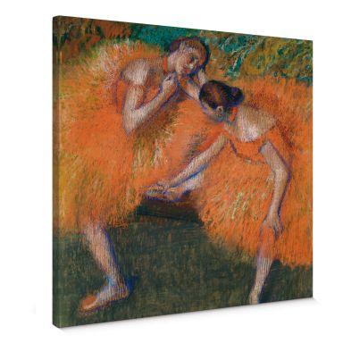 Leinwandbild Degas - Zwei Tänzerinnen