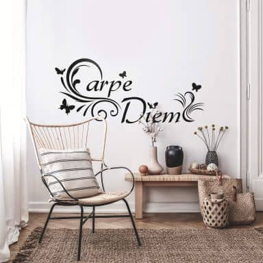 Muursticker Carpe Diem 3