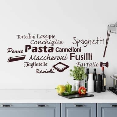 Pasta Wall sticker