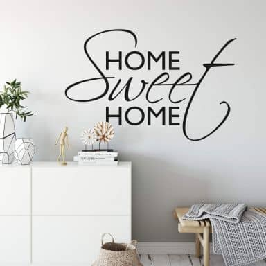 Muursticker Home Sweet Home 1