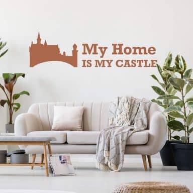 My Home is my Castle 2 Wall sticker