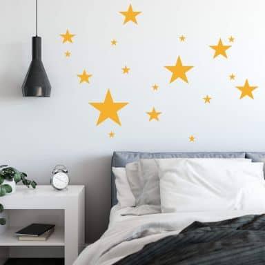Sticker mural - Set Étoiles
