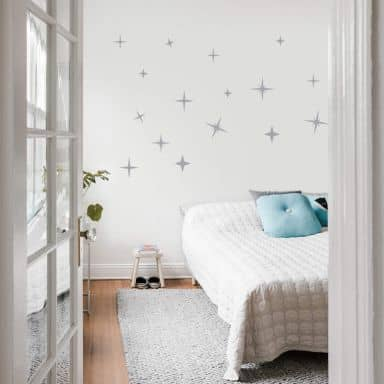 Adesivo murale - Notte stellata
