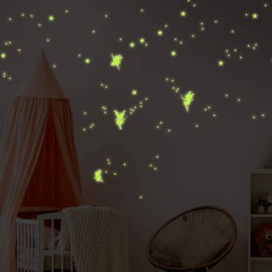 Fairies Glow in the Dark Stickers