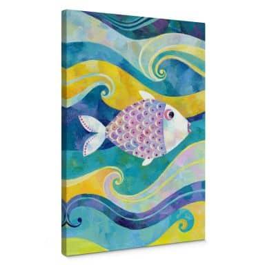Leinwandbild Blanz - Der kleine Fisch