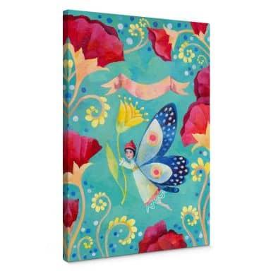 Leinwandbild Blanz - Schmetterling