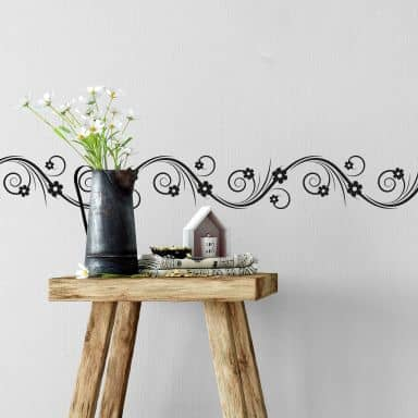 Sticker mural - Bordure Estivale