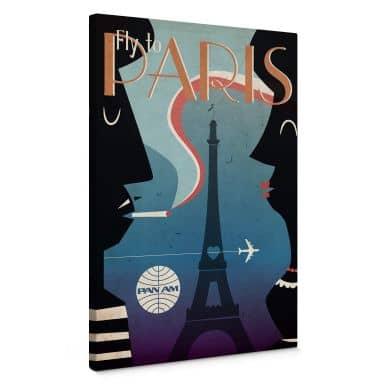 Leinwandbild PAN AM - Fly to Paris
