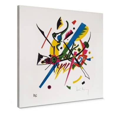 Canvas print Kandinsky – Small World 1