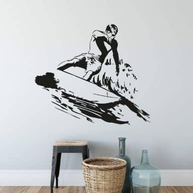 Surfer Wall sticker