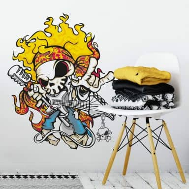 Skull of Rock 2 Wall sticker
