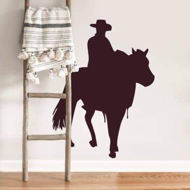Muursticker Cowboy 3