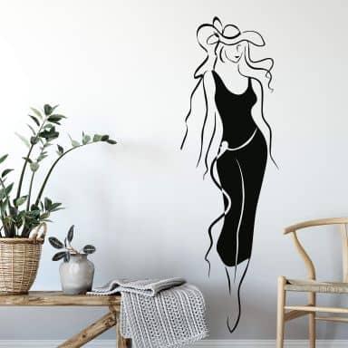 Adesivo murale - Laura