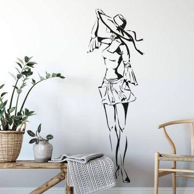 Sticker mural - Diva Estivale