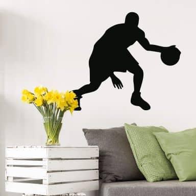 Wandtattoo Basketball 4