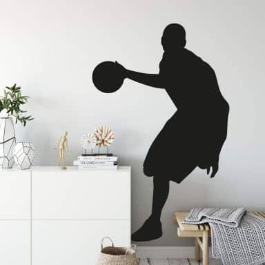 Wandtattoo Basketball 7