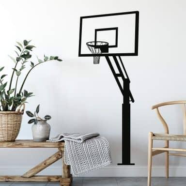 Wandtattoo Basketball Korb